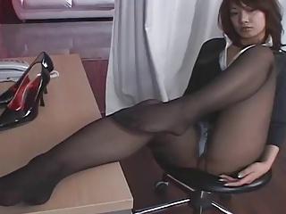Hot Japanese Pantyhose..