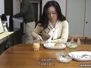 Mammy sucking her son's..