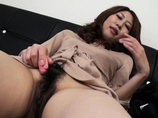 Asian of an overly aroused..