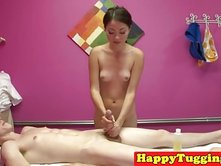 Diminutive asian masseuse..