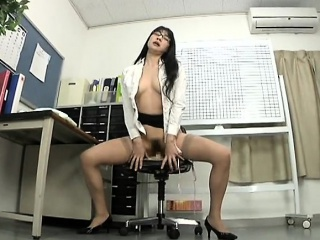 Hairy Japanese Masturbation..