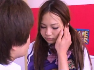 Pretty asian schoolgirl..