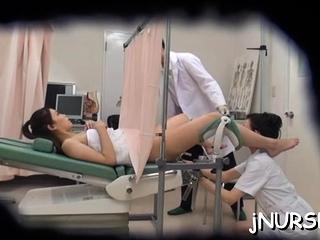 Fascinating nurse nudity..