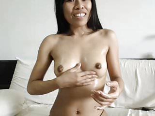 Playing With Her Big Oiled..