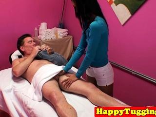 Dickriding asian masseuse..