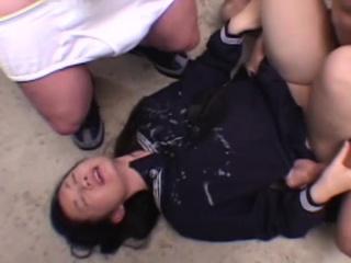 Young Japanese Schoolgirl..