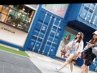 Spying on korean girls