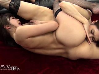 Lesbian anal babe toying..