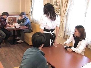 Japanese waitress food..