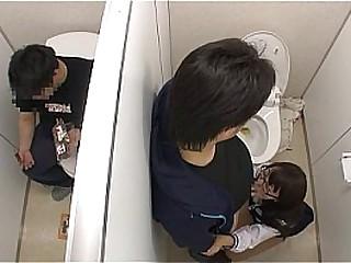 Japanese guy get horny in..