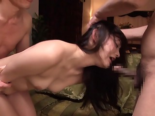 Horny Japanese girl..
