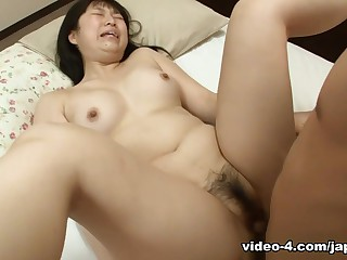 Tanned Japanese Teen Sucks..