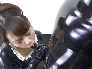 Japanese Latex Maid and..