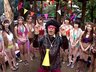 Exotic Japanese girls Ayaka..