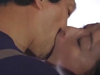 Japanese kissing - tongue..
