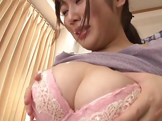 Japanese stepmom cares of..