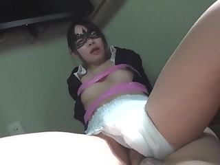 JAV fingering diaper sex..