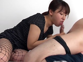 Horny Japanese partition in..