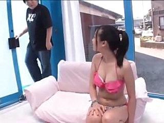 Asian Teen Pink Bikini Sex..